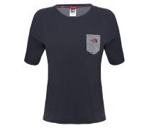 Pocket - T-Shirt für Damen - Schwarz