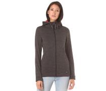 Hoody Fleece - Kapuzenjacke für Damen - Schwarz