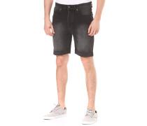 Washed Black - Shorts für Herren - Schwarz