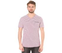 V Neck - T-Shirt für Herren - Rot