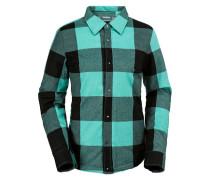 Nourish Ins Flannel - Funktionsjacke für Damen - Schwarz