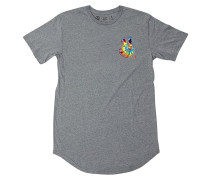 Peeace Scallop T-Shirt - Grau