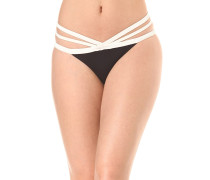 Designer Closet Biar - Bikini Hose für Damen - Schwarz