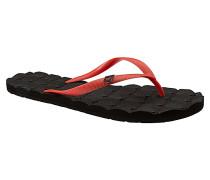 Recliner Rubber 2 - Sandalen für Damen - Rot