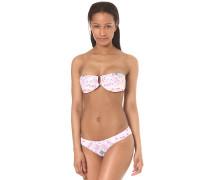 Fiesta Bandeau - Bikini Set für Damen - Weiß