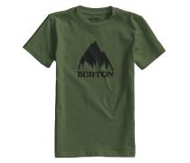 Classic Mountain - T-Shirt für Jungs - Grün