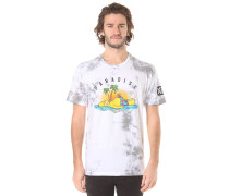 Lounging in Paradise - T-Shirt - Weiß