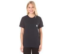 Carrie Pocket - T-Shirt für Damen - Blau