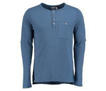 O'Riginals Henley - Langarmshirt für Herren - Blau