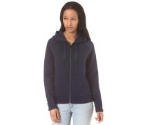 3-D Stitched - Kapuzenjacke für Damen - Blau