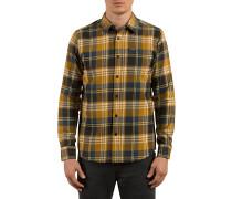 Caden L/S - Hemd für Herren - Braun