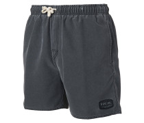 "Volley Solid 16"" - Boardshorts - Schwarz"