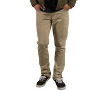 Vorta 5 Pocket Slub - Stoffhose für Herren - Beige