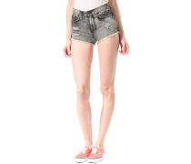 Destroyed High Ris - Shorts für Damen - Schwarz