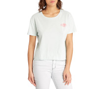 Crop - T-Shirt für Damen - Grün
