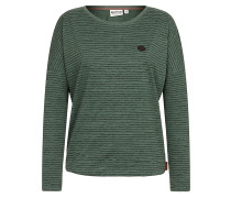 Zeich ma Titten V - Langarmshirt für Damen - Grün