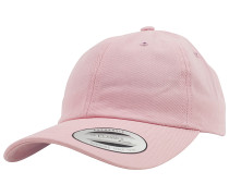 Low Profile Cotton TwillSnapback Cap Pink