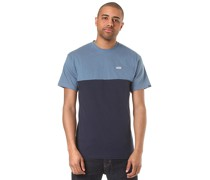 Colorblock - T-Shirt - Blau