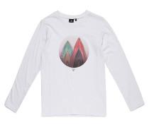 Round Board - Langarmshirt für Jungs - Weiß