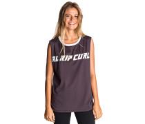 Surf Geo Fade Muscle - T-Shirt für Damen - Blau