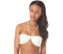 Bandeau Sol Searcher - Bikini Oberteil für Damen - Weiß
