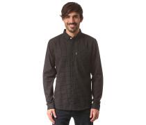 Kieran Plus L/S - Hemd für Herren - Schwarz