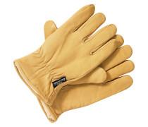 Lined Lthr - Handschuhe für Herren - Braun