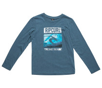Icon Search - Langarmshirt für Jungs - Blau