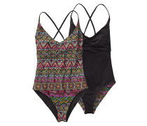 1pc Kupala Swimsuit - Badeanzug für Damen - Schwarz