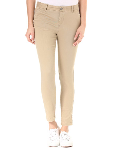 Keith - Stoffhose - Beige