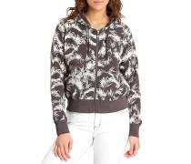 Love Palm - Sweatshirt für Damen - Schwarz