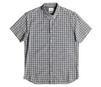 The Linen Check - Hemd für Herren - Blau