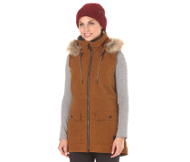 Longhorn Insulated - Outdoorweste für Damen - Braun