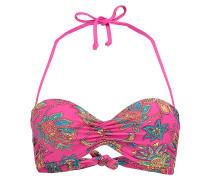 Paisley Molded - Bikini Oberteil für Damen - Pink