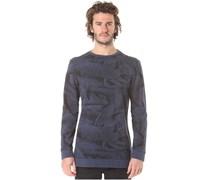 Dark Trip Crew - Sweatshirt für Herren - Schwarz