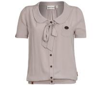 Kurz Kacken III - Bluse für Damen - Grau