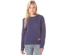 Zip Crew - Sweatshirt für Damen - Blau