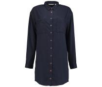 Tencel Long - Hemd für Damen - Blau