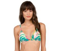 Hot Tropic Triangle - Bikini Oberteil für Damen - Blau