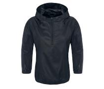 Gymset Crop - Funktionsjacke für Damen - Schwarz