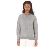 Xula Cropped SW Premium Sherland UB - Sweatshirt für Damen - Grau