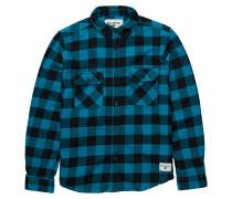 All Day L/S - Hemd für Jungs - Blau