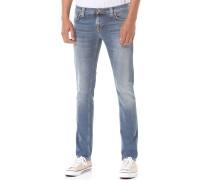 Long JohnJeans Blau