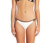 Set Boho Tropic - Bikini Hose für Damen - Weiß