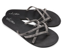 New School - Sandalen für Damen - Grau