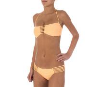 Spellbound Bandeau - Bikini Set für Damen - Orange