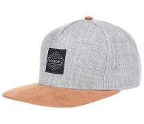 Hamburg Snapback Cap - Grau