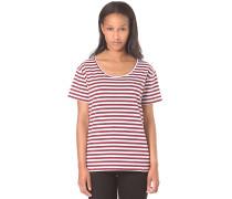 Möwe Stripes - T-Shirt für Damen - Streifen