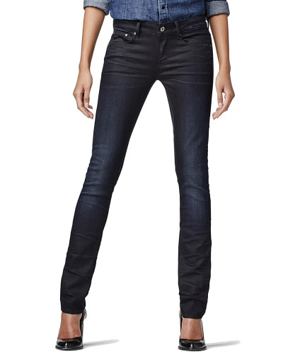 Attacc Mid Straight - Slander Superstretch - Jeans