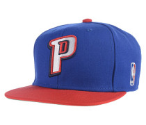 XL Logo Two Tone Detroit PistonsSnapback Cap Blau